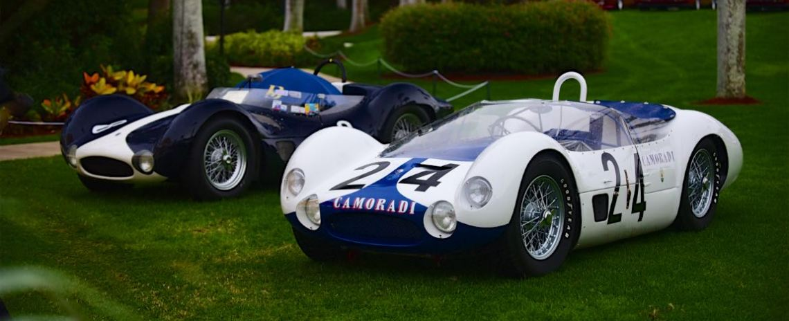 1959 Maserati T60/61 Birdcage s/n 2451.