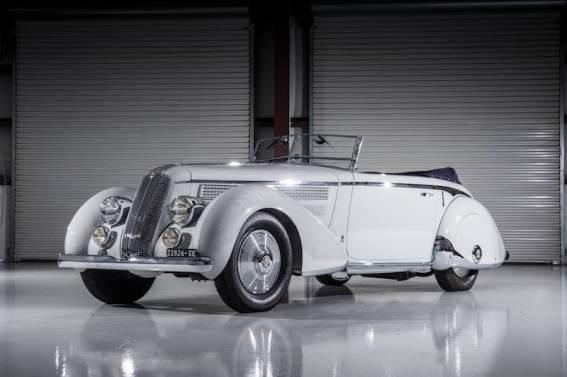 1936 Lancia Astura Cabriolet Series III 'Tipo Bocca' by Pinin Farina (photo: Darin Schnabel)