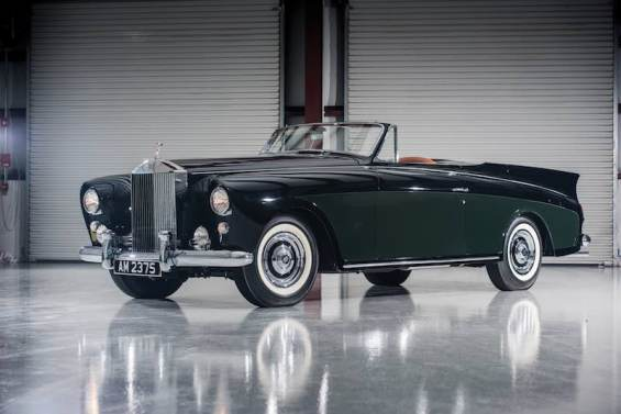 1958 Rolls-Royce Silver Cloud I Drophead Coupe 'Honeymoon Express' by Freestone and Webb (photo: Darin Schnabel)