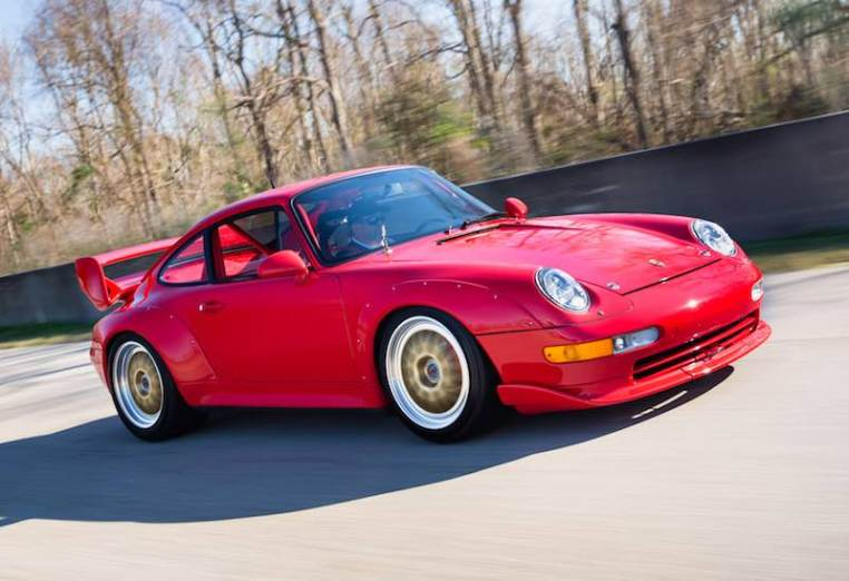 1997 Porsche 993 Cup 3.8 RSR (photo: Mike Maez)