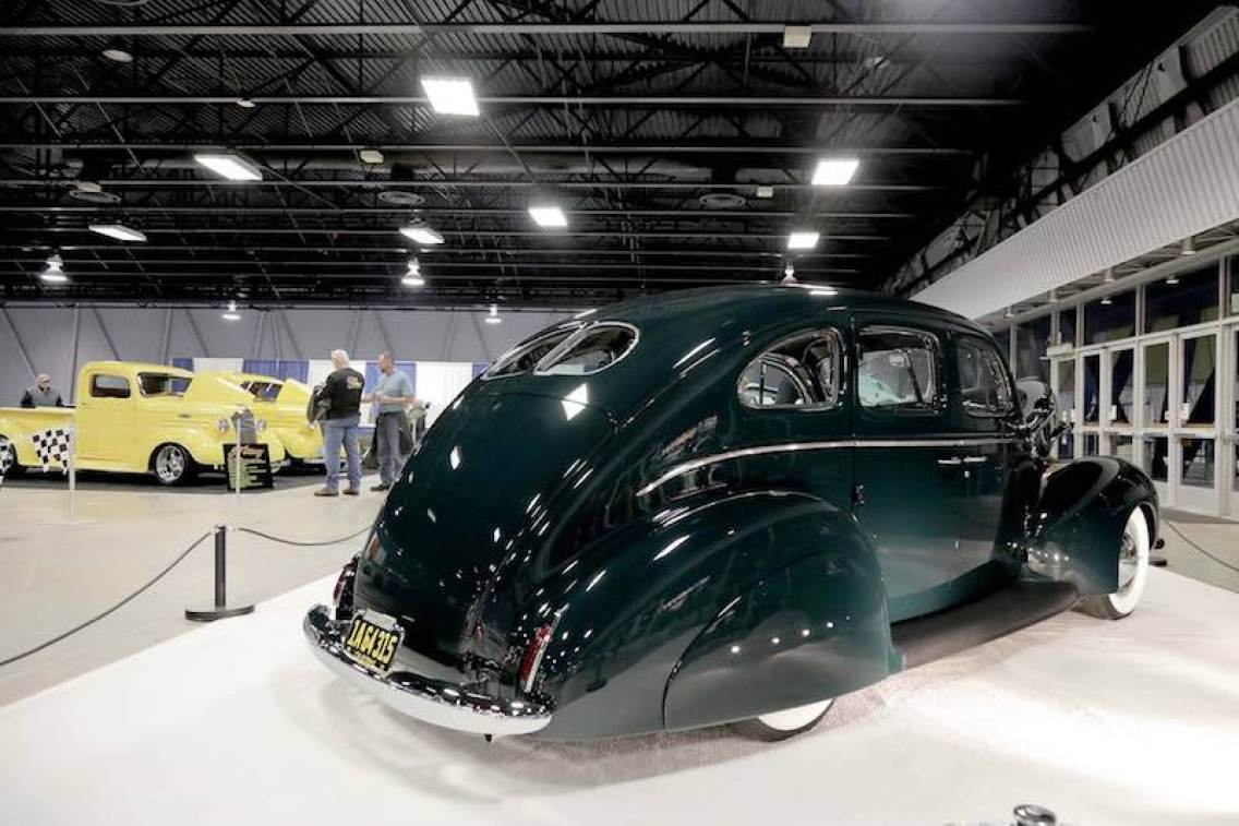 1940 Ford Sedan 'The Second Time Around' built by Michael McAuliffe