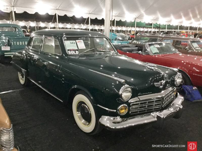 1948 Studebaker Commander Land Cruiser 4-Dr. Sedan