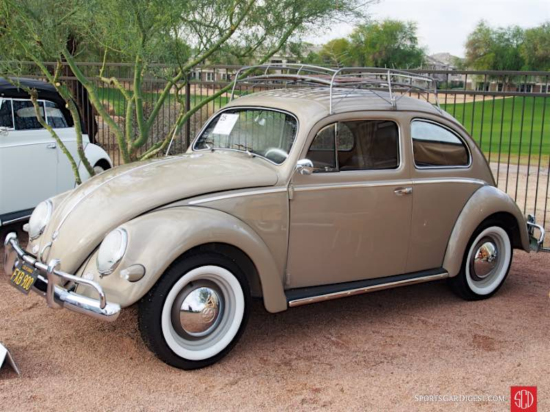 1956 Volkswagen Type 1 Beetle 2-Dr. Sedan