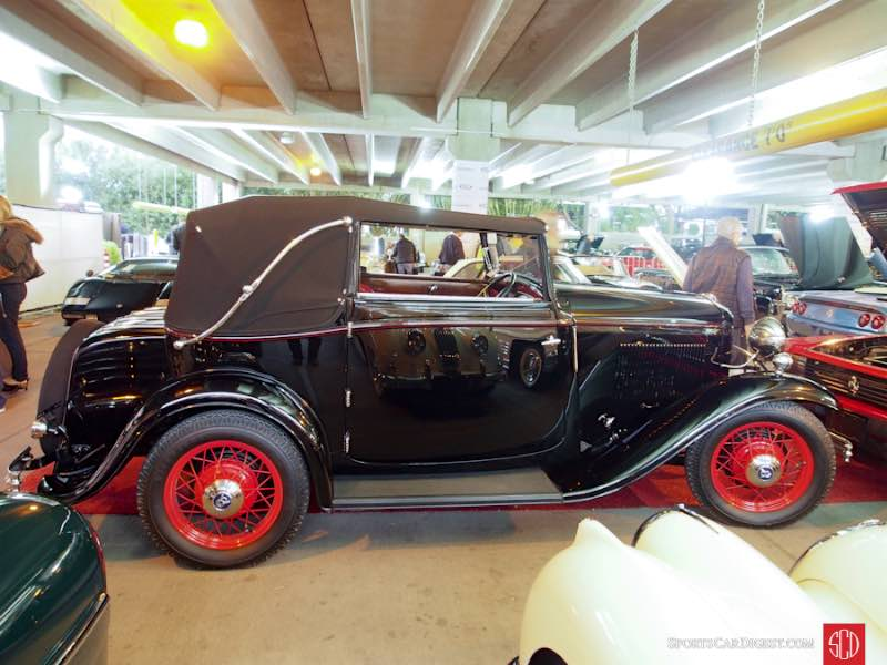 1932 Ford V-8 Drophead Coupe, Body by Carlton Carriage