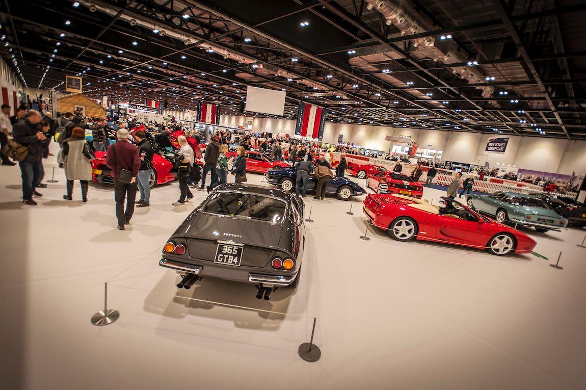 Ferrari Tribute at the London Classic Car Show