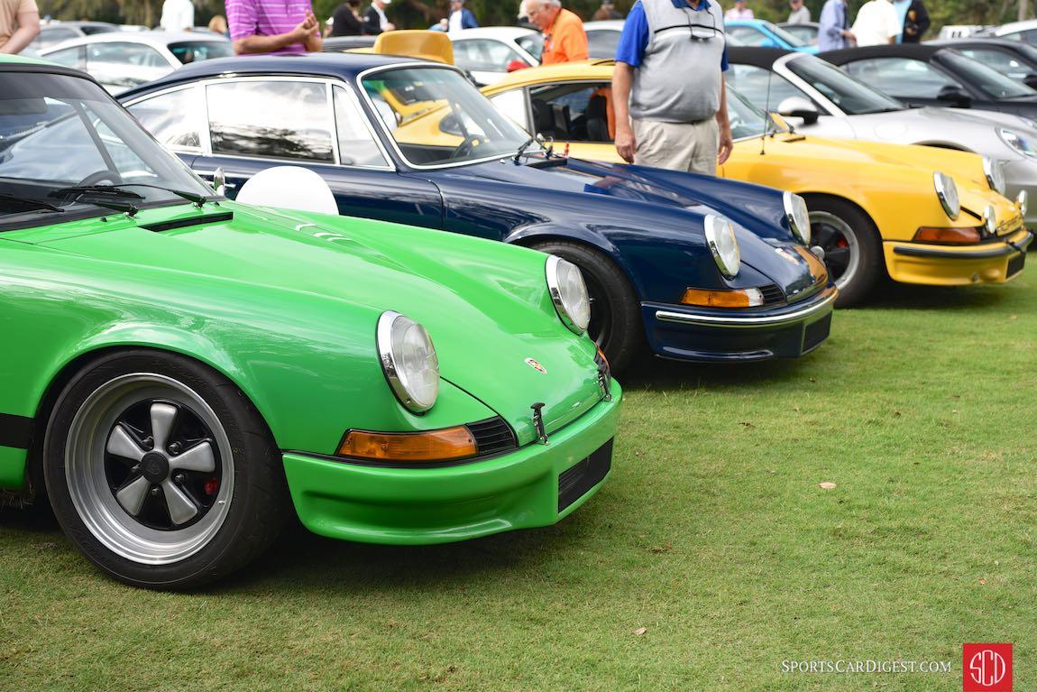 Porsche 911 Hot Rods - Werks Reunion Amelia Island 2017