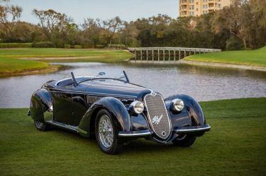1939 Alfa Romeo 8C 2900B Lungo Spider from the Dano Davis Collection