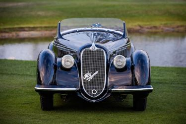 1939 Alfa Romeo 8C 2900B Lungo Spider from the Dano Davis Collection