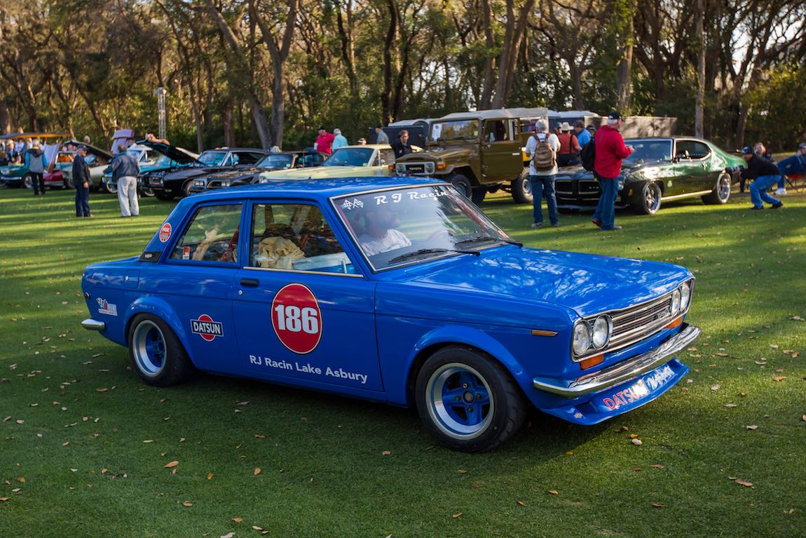 Cars and Coffee at the 2107 Amelia Island Concours