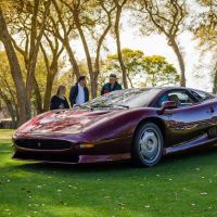 Cars and Coffee at 2017 Amelia Island Concours - Photos