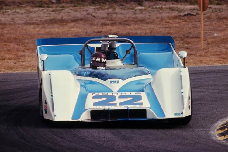 Jackie Oliver in the Ti 22 Mk II at the 1970 Laguna Seca Can-Am race (Photo: Pete Biro)