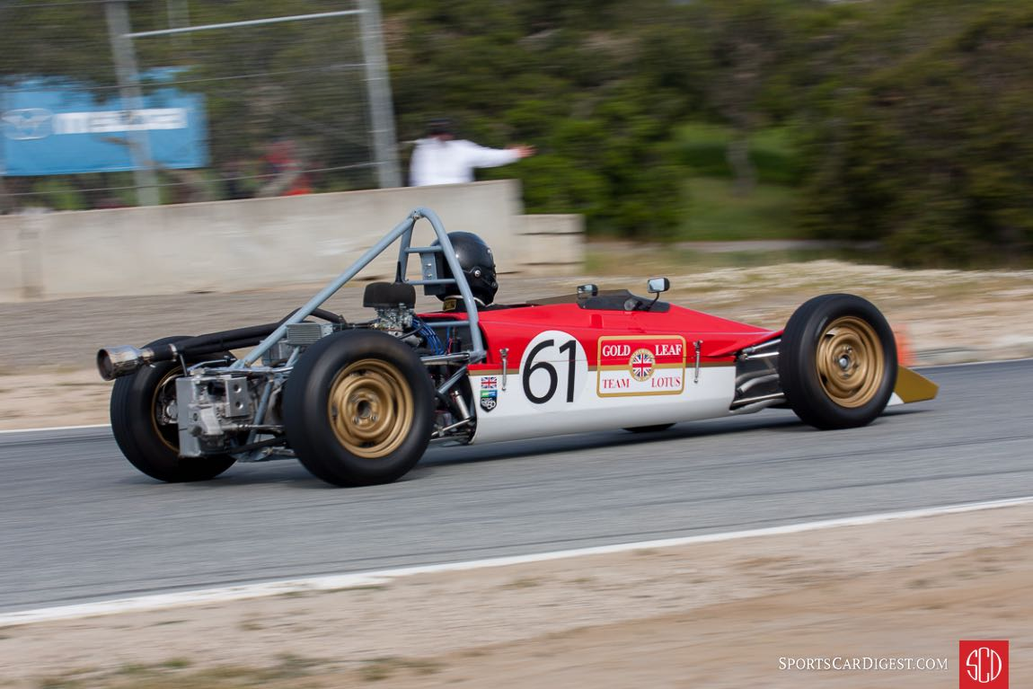 Jonathan Kitchen - 1969 Lotus 61