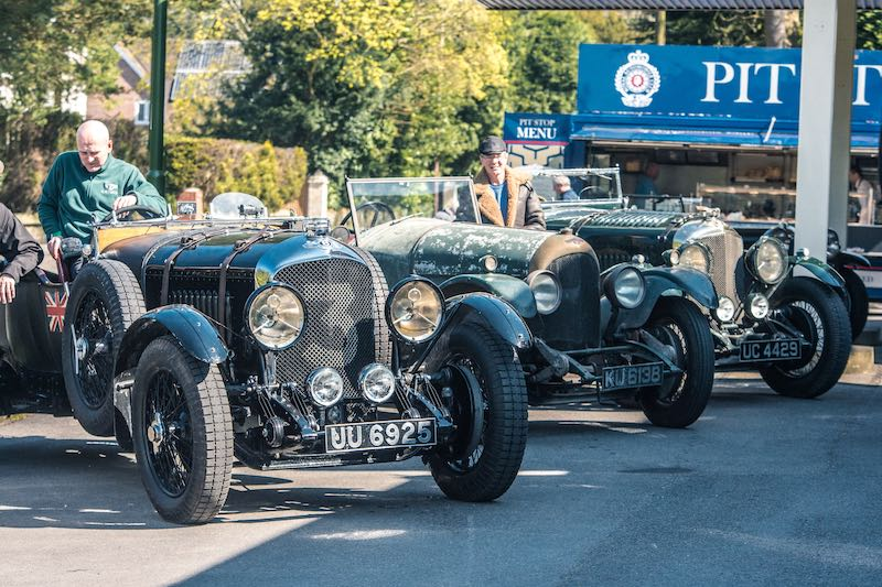 Drive Out from William Medcalf Vintage Bentley