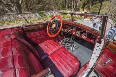 1928 Mercedes-Benz 680 S Saoutchik Torpedo Interior (photo: Daniel Olivares)