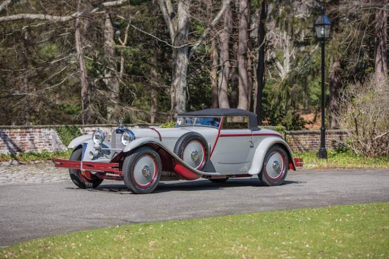 1928 Mercedes-Benz 680 S Saoutchik Torpedo Top (photo: Daniel Olivares)