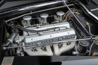 1948 Talbot-Lago T26 Grand Sport Cabriolet Engine (photo: Tim Scott)