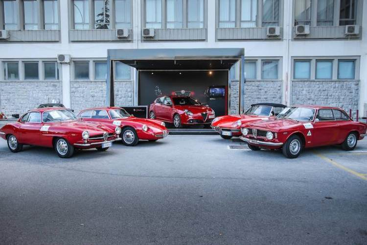 Alfa Romeo participated in the 2017 Targa Florio