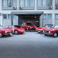 Alfa Romeo Showcase at 2017 Targa Florio