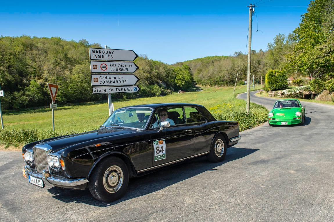 1979 Rolls-Royce Corniche - London to Lisbon Rally 2017