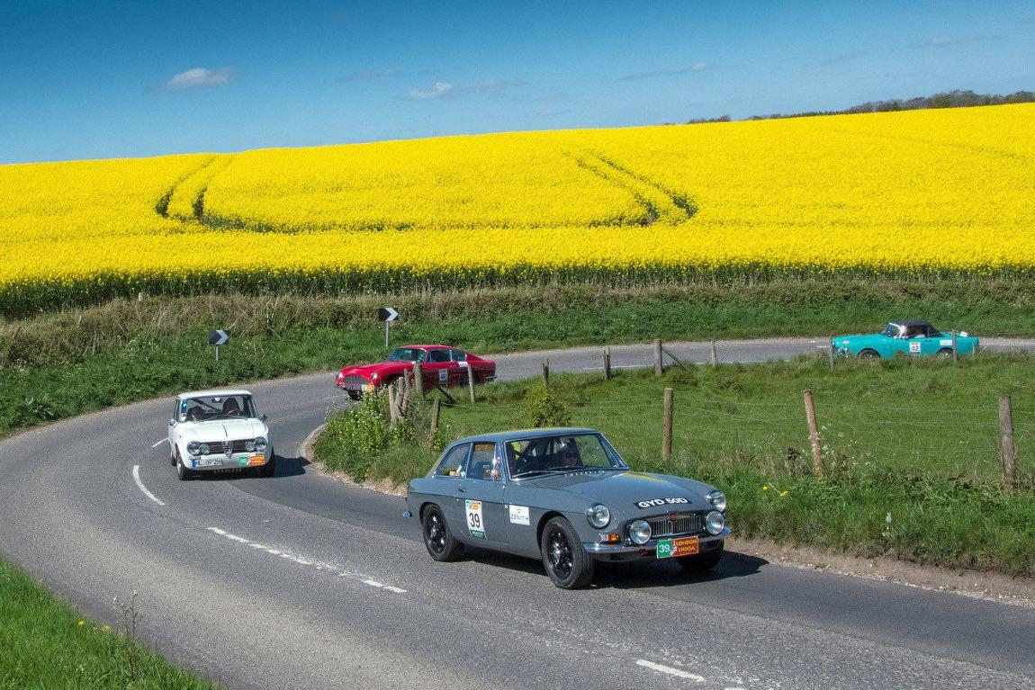 1966 MG B GT - London to Lisbon Rally 2017