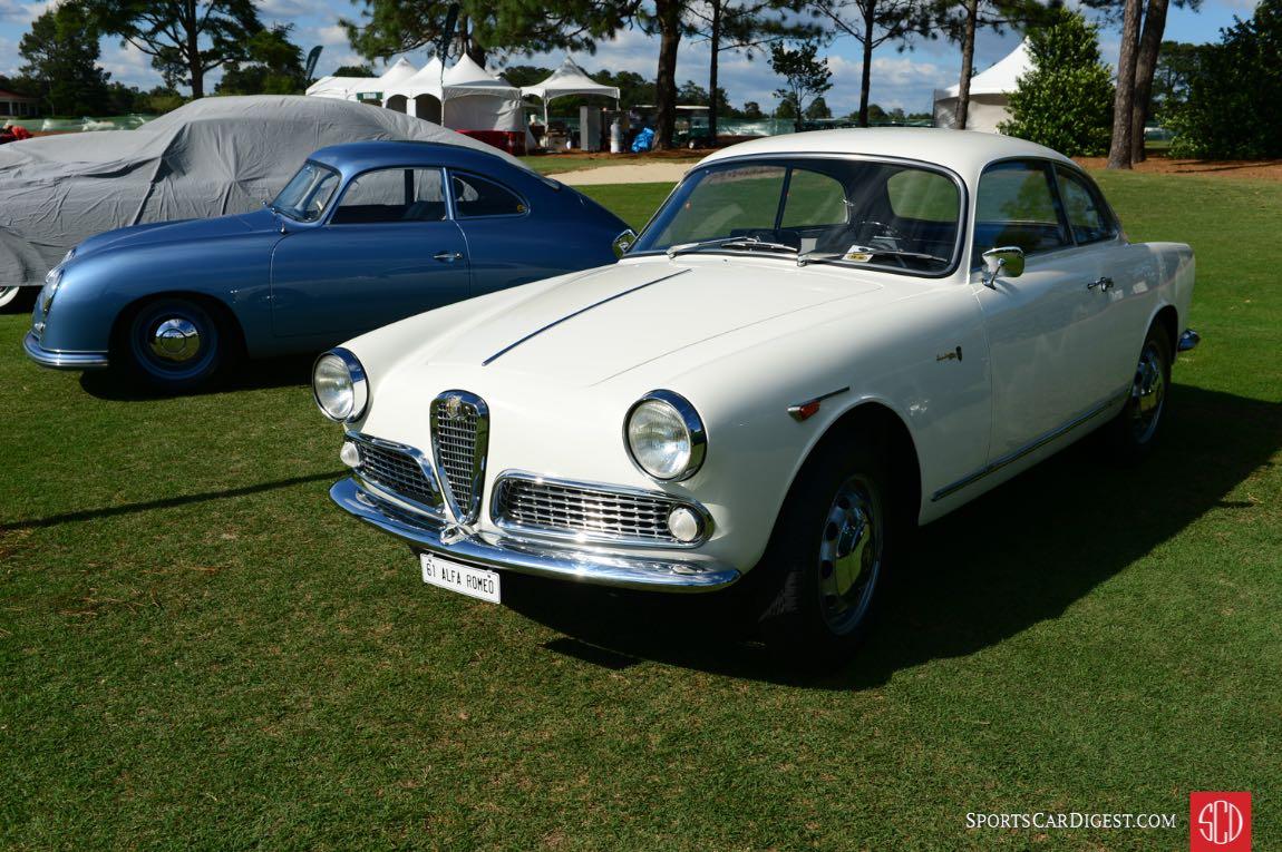 1961 Alfa Romeo Giulietta Sprint.