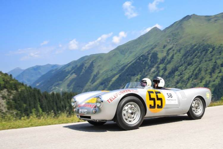 Porsche 550 on Ennstal Classic Rally