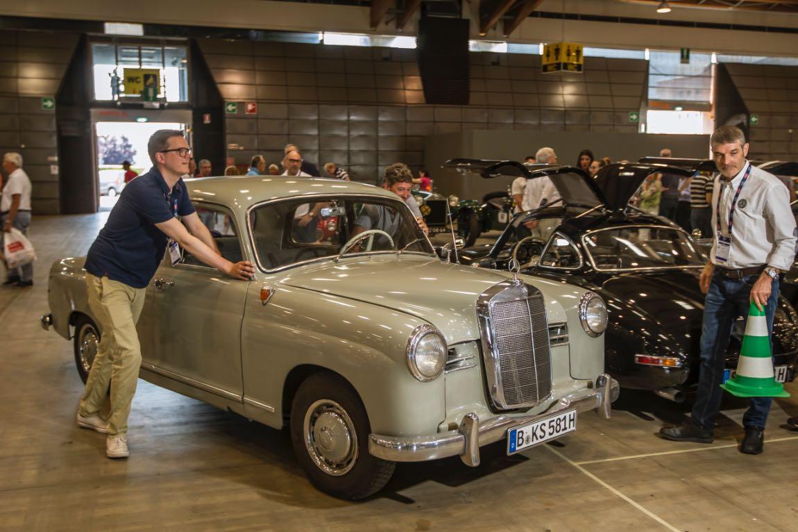 1956 Mercedes-Benz 180 D
