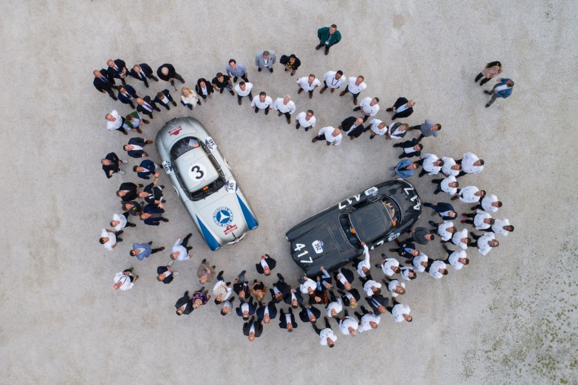 Mercedes-Benz at 2017 Mille Miglia