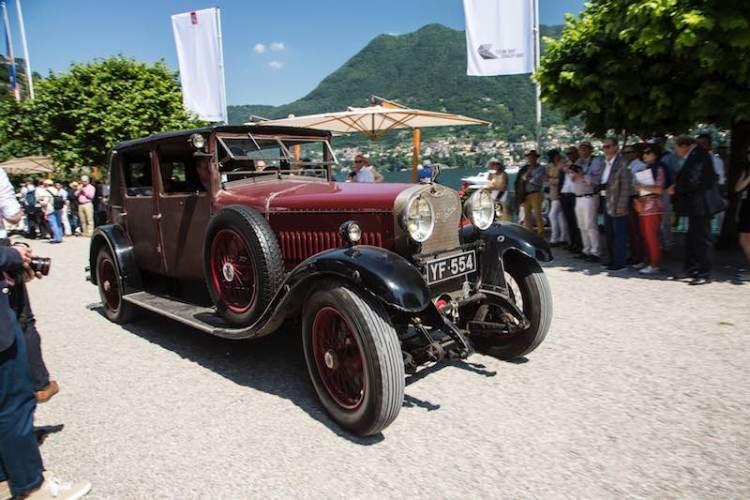 1927 Hispano-Suiza T49 'Weymann' Sport Saloon by H.J. Mulliner