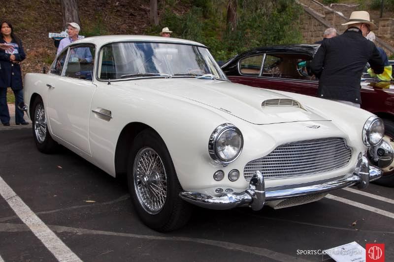 1961 Aston Martin DB4, owned by Ian Wayne