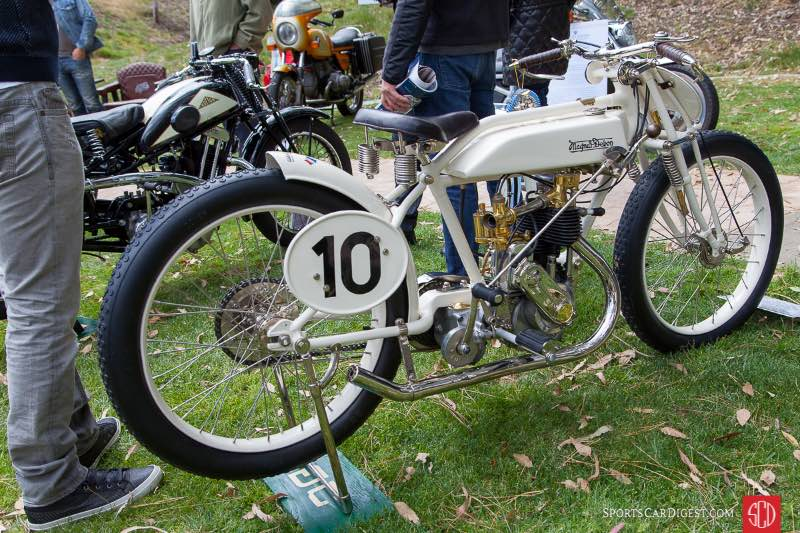 1921 Magnat Debon Racer 350cc, owned by Serge Bueno