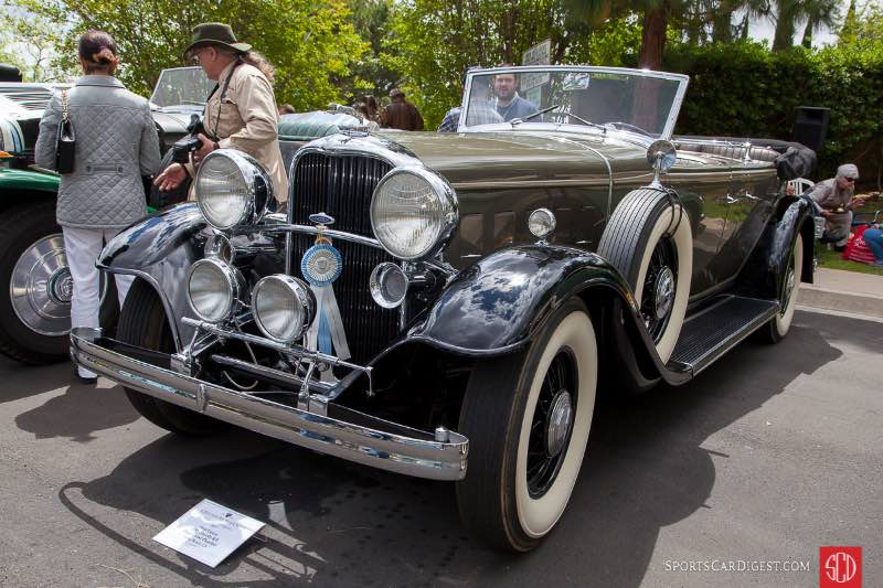 1932 Lincoln KB Dual Cowl Phaeton, owned by Stan Lucas