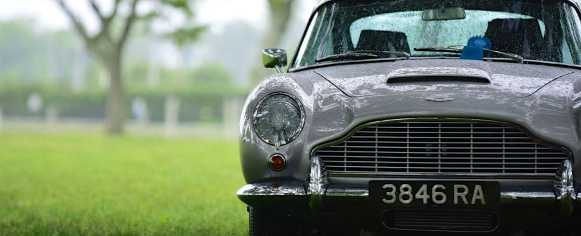 1964 Aston Martin DB5 - Mark and Trish Davies.