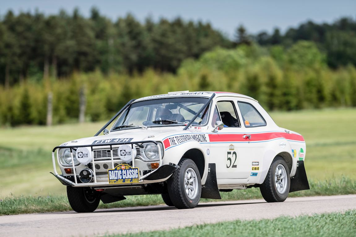 Baltic Classic 2017. Day 01 Copenhagen - Gothenburg., Car 52. Jim Grayson (GB) / Simon Spinks (GB) 1969 Ford Escort