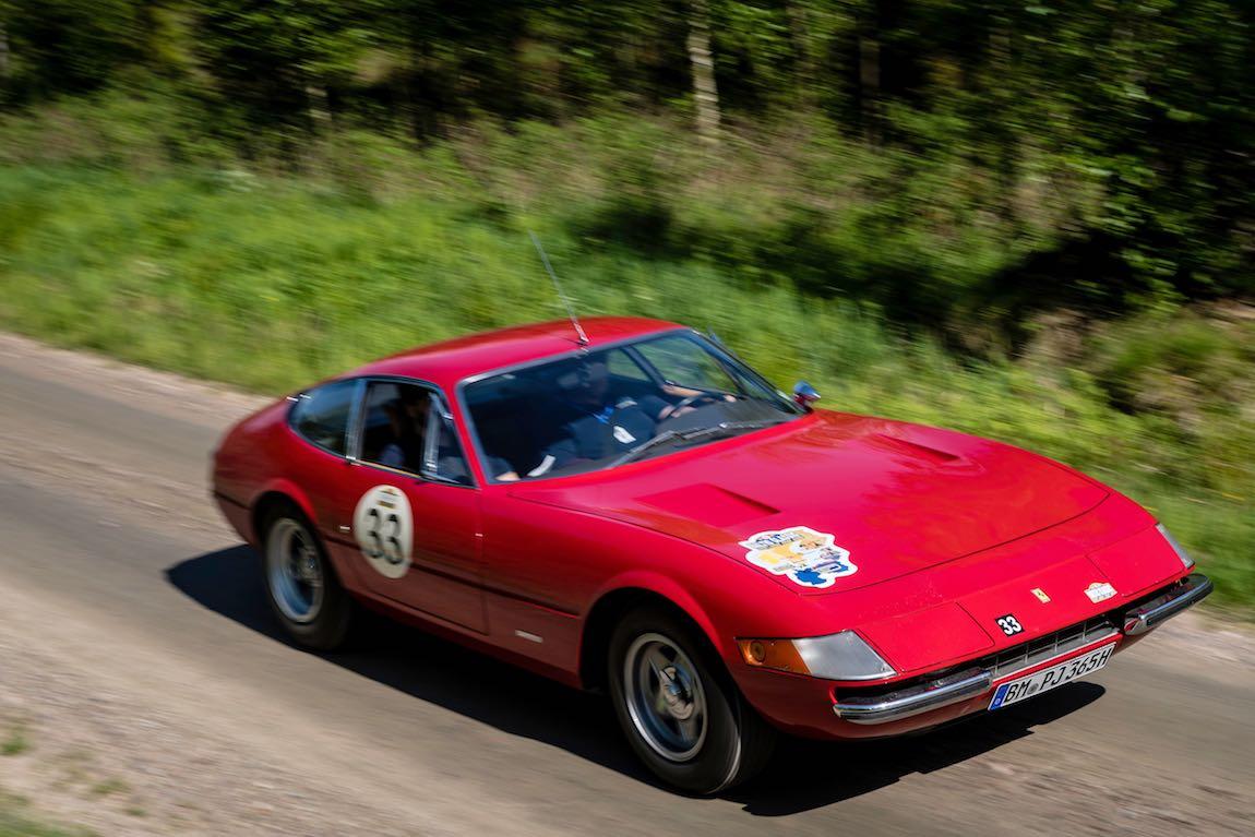 Baltic Classic 2017. Day 01 Copenhagen - Gothenburg., Car 33. Joerg Lemberg (D) / Petra Lemberg (D) 1971 Ferrari 365 GTB/4 Daytona