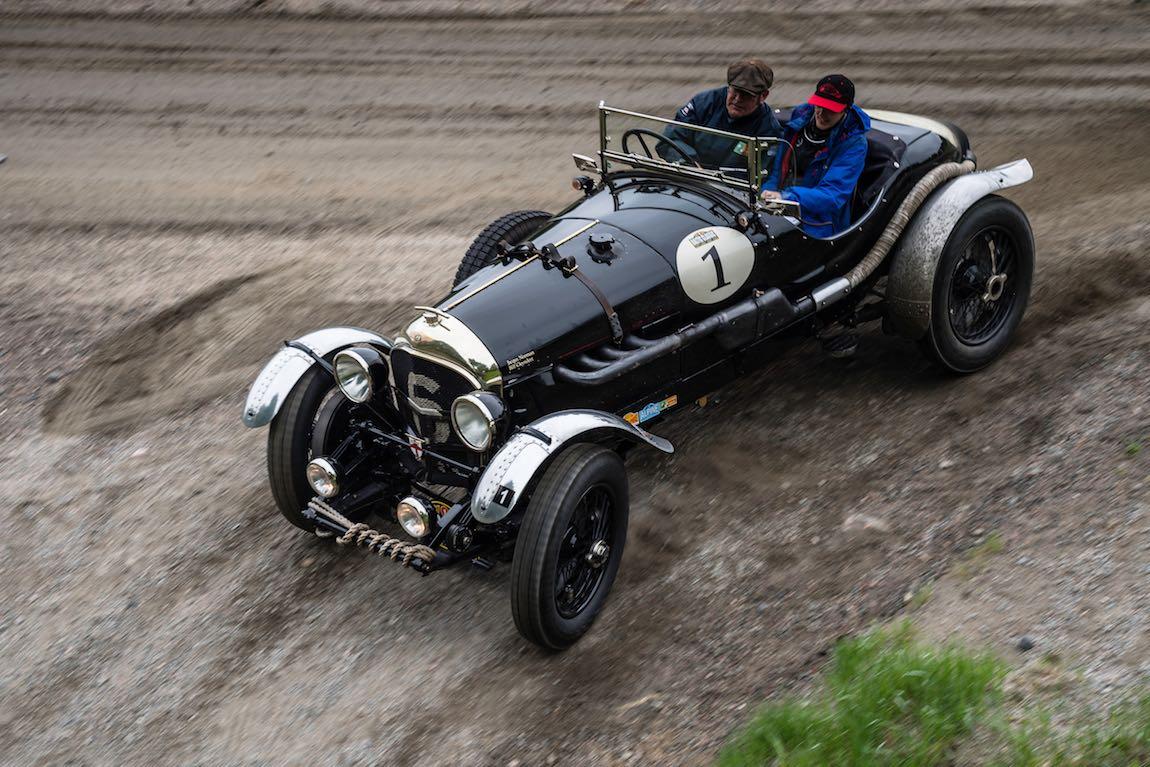 Baltic Classic 2017. Day 02 Gothenburg - Karlstad, Car 01. Bill Cleyndert (GB) / Jacqui Norman (GB) 1925 Bentley 3-4 1/2