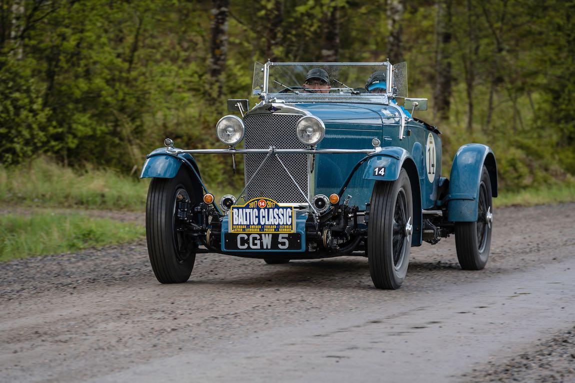 Baltic Classic 2017. Day 05. Turku - Jvaskyla., Car 14. Andrew Boland (IRL) / Ann Boland (IRL)1934 Talbot AV105