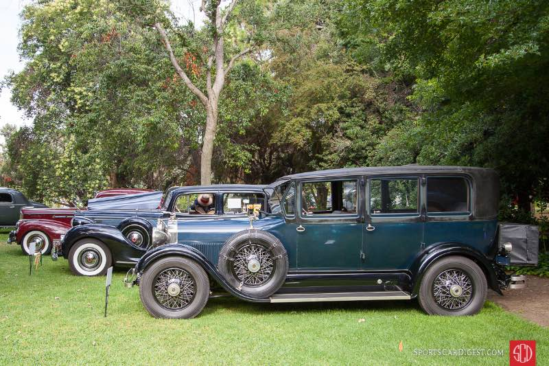 1928 Lincoln Willoughby Limousine, owned by Joe Conzonire
