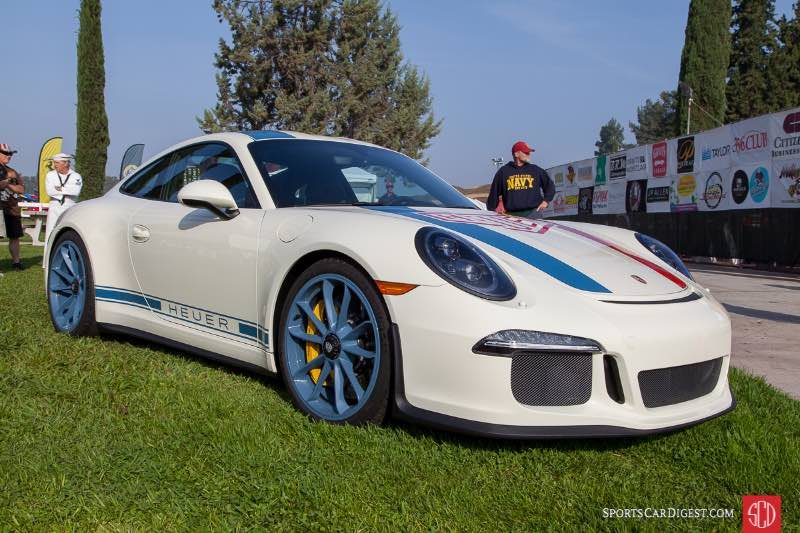 2016 Porsche 911R Heuer - owner Philippe Berber