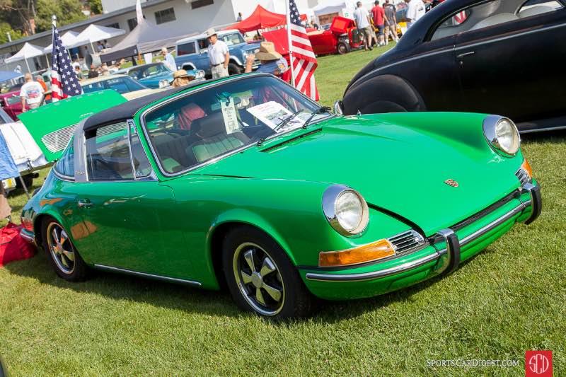 1970 Porsche 911T Targa, owned by Margaret Libunao