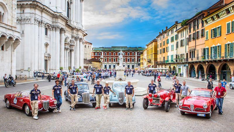 Alfa Romeo Historic Museum at 2017 Mille Miglia