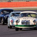 MG Car Club Celebration at Silverstone Circuit