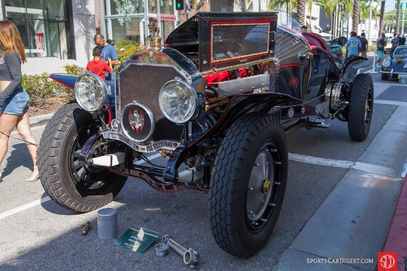La Bestioni Batmobile, created by Gary Wales