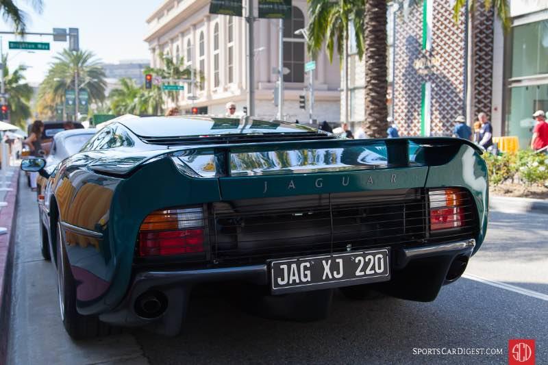 1993 Jaguar XJ220, owned by William O. Fleishman