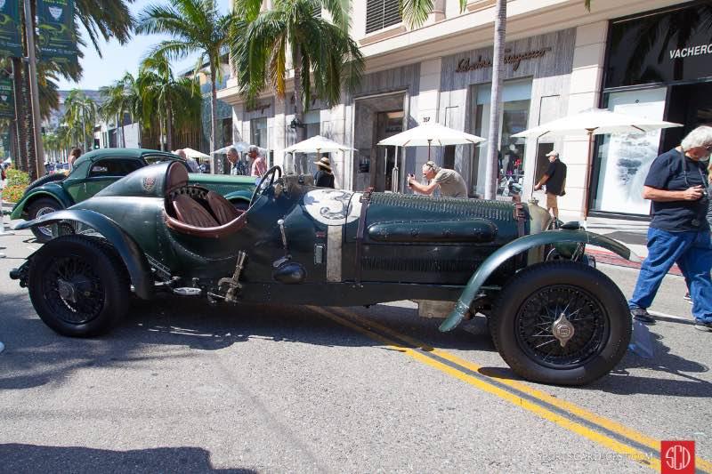 1928 Bentley 3/8 Litre Racer, owned by Doug & Ellen Weitman