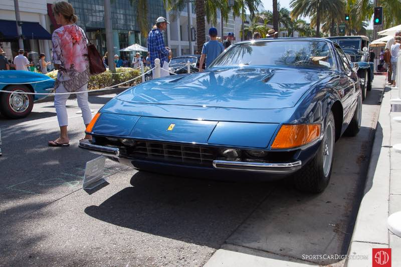 1972 Ferrari 365 GTB/4 Daytona, owned by Thomas Shannon