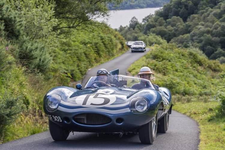 1956 Jaguar D-type Ecurie Ecosse