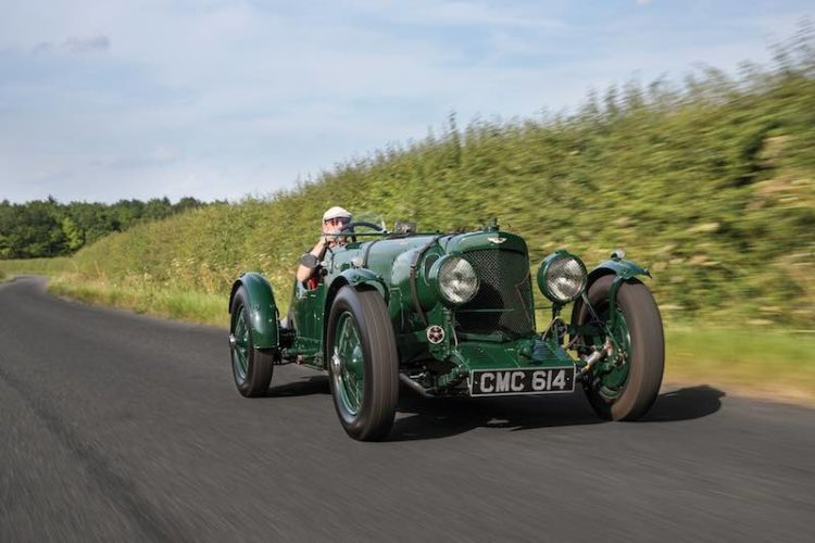 1935 Aston Martin Ulster Competition Sports (photo: Tom Gidden)