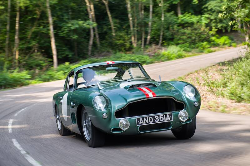 1959 Aston Martin DB4GT (photo: Tim Scott Fluid Images)