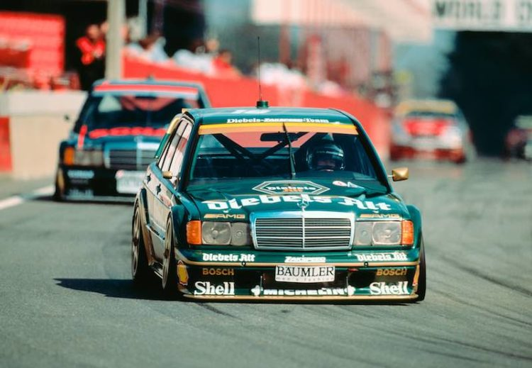 Bergischer Lowe, Zolder (first DTM race), 05.04.1992. Zakspeed team/Kurt Thiim was victorious at the wheel of an AMG-Mercedes-Benz 190 E 2.5-16 Evolution II racing tourer.
